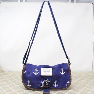 Sloane Ranger Bag Blue Anchor Sailor